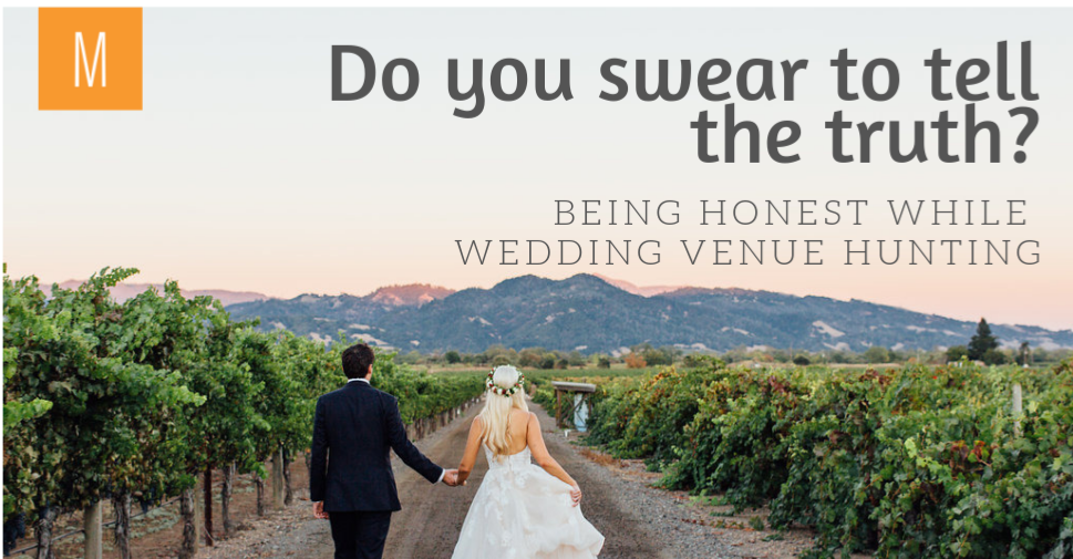 Tell the truth about your wedding