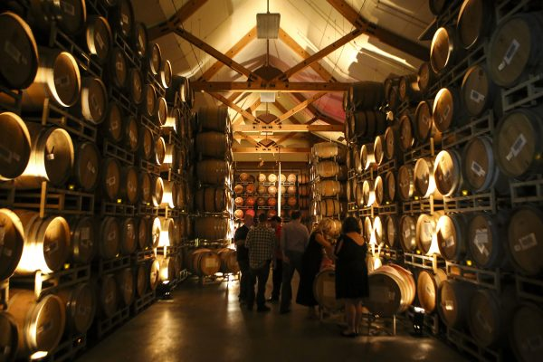 VOM Barrel room